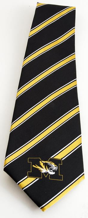 MU Regimental Stripe Tie
