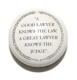 A Good Lawyer Knows Paperweight