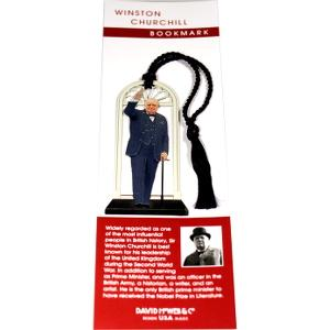 Winston Churchill Bookmark