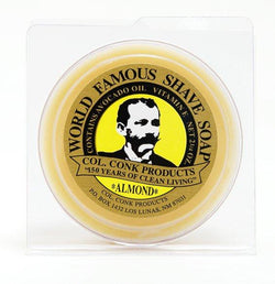 Almond Shaving Soap 2.25 oz