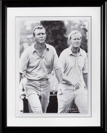 Nicklaus & Palmer 1971 Laurel Valley