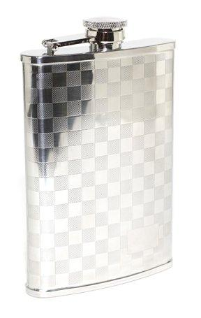 Flask w/Checkerboard 8oz
