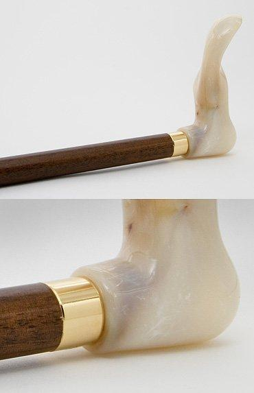 Right-hand Marble Walking Stick