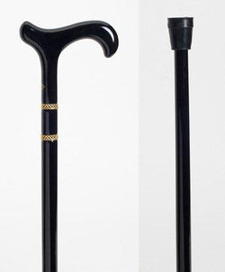 Derby cane w/rings Walking Stick