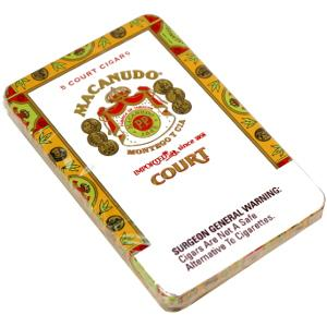 Macanudo Cafe Court 5-pack tin (5)