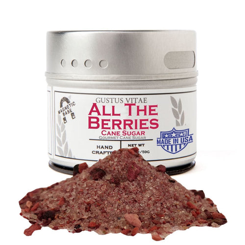 All The Berries Cane Sugar Gourmet Cane Sugar Gustus Vitae