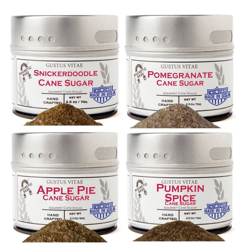 Autumn Harvest Cane Sugars Collection Collections & Gift Sets Gustus Vitae