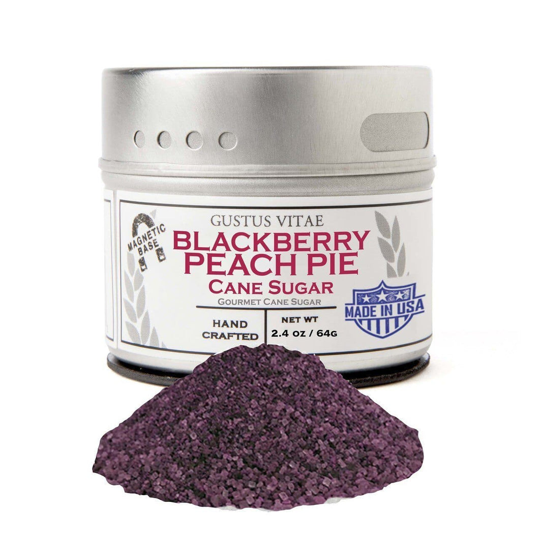 Blackberry Peach Pie Cane Sugar Gourmet Cane Sugar Gustus Vitae