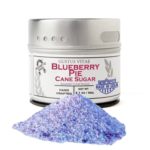 Blueberry Pie Cane Sugar Gourmet Cane Sugar Gustus Vitae