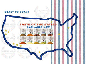 Coast To Coast Collection - Taste Of The States Limited Edition Gustus Vitae
