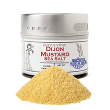 Load image into Gallery viewer, Dijon Mustard Sea Salt Gourmet Salts Gustus Vitae