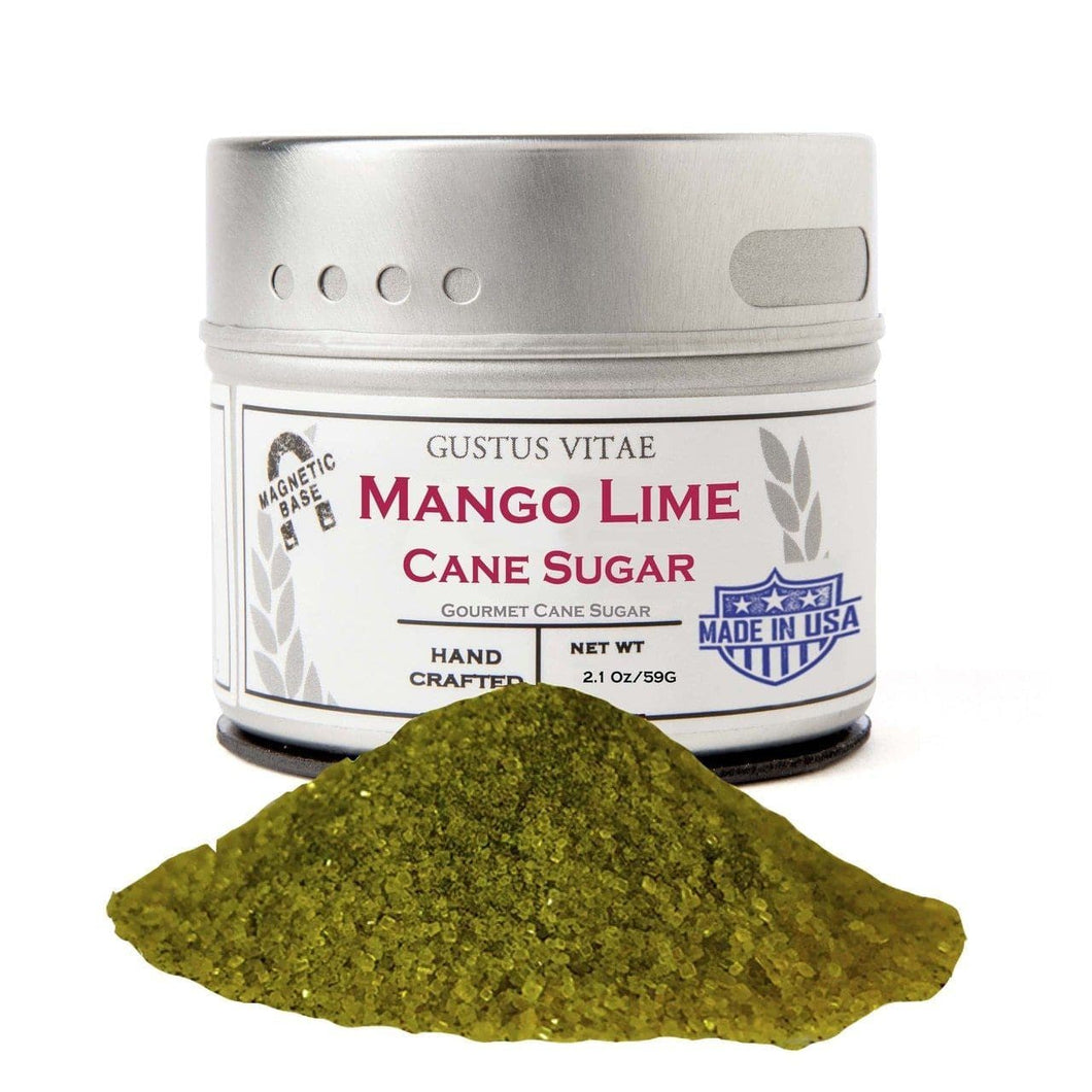 Mango Lime Cane Sugar Gourmet Cane Sugar vendor-unknown