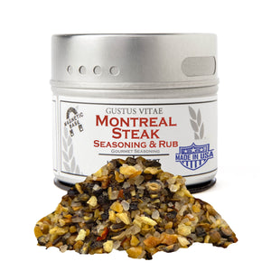 Montreal Steak Seasoning Gourmet Seasonings Gustus Vitae