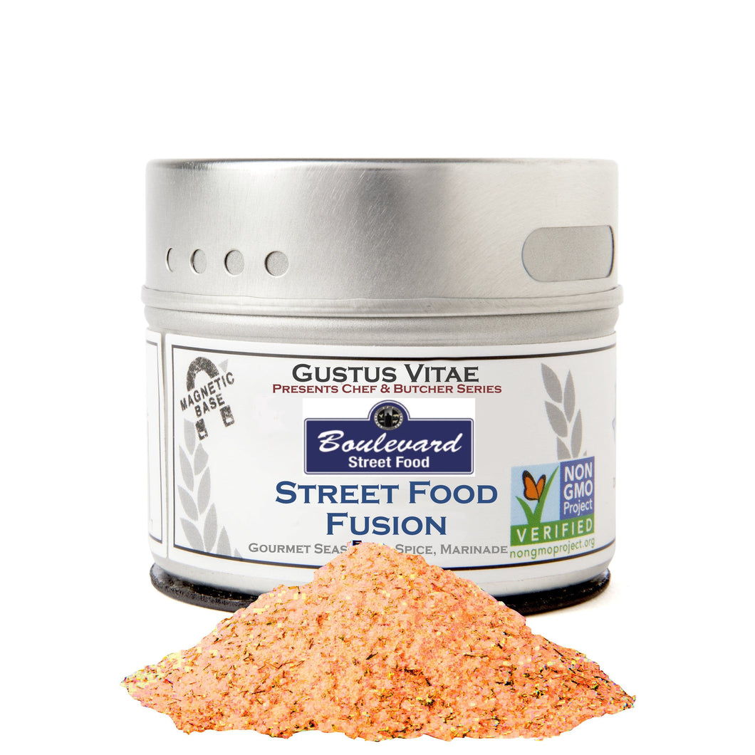 Street Food Fusion Seasoning Limited Edition Gustus Vitae