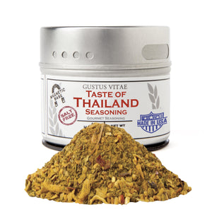 Taste of Thailand Gourmet Seasonings Gustus Vitae