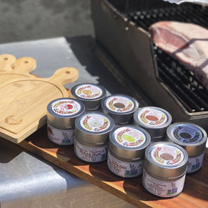 The Dad Pack - 8 Rubs & Salts Built For The BBQ Collections & Gift Sets Gustus Vitae