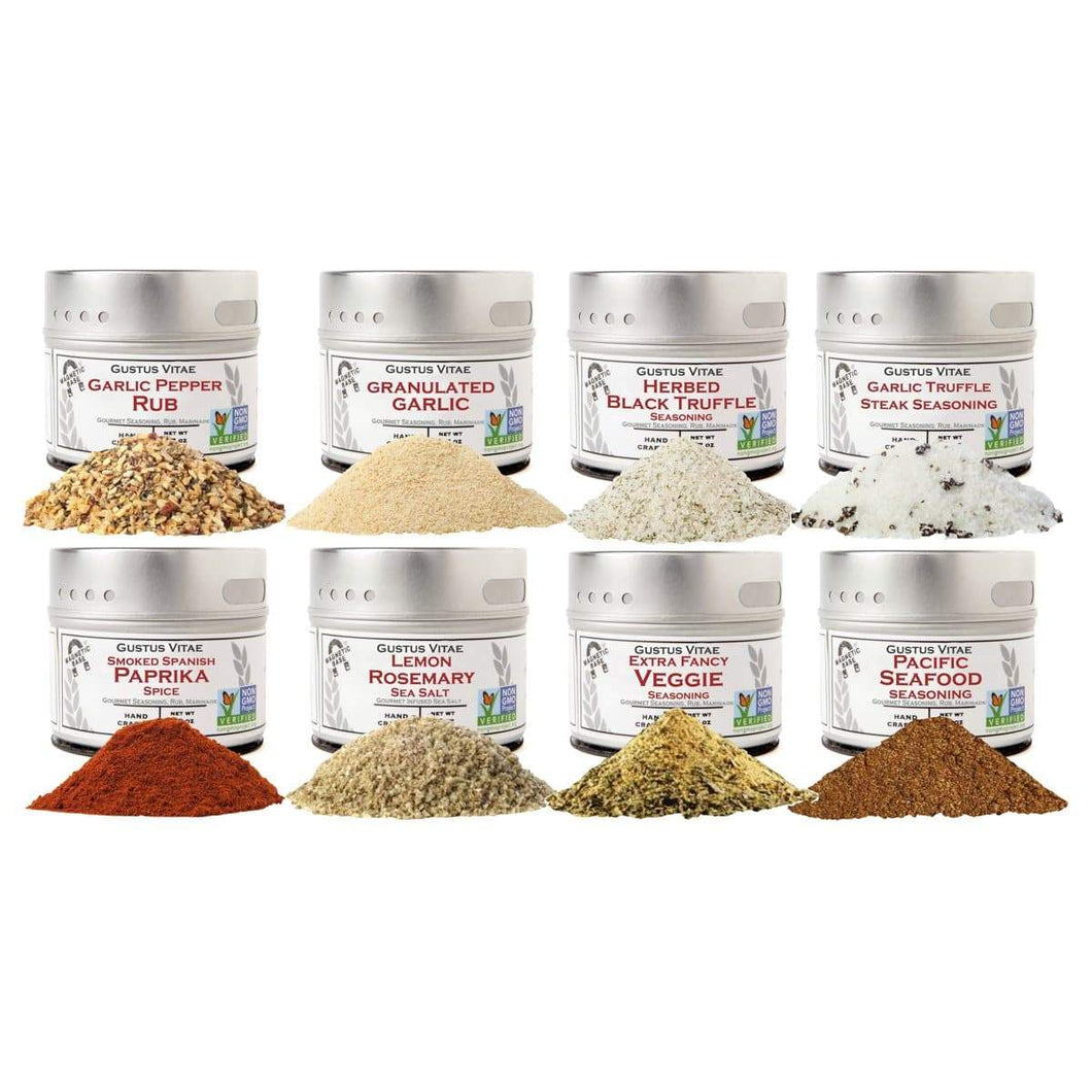 The Perfect Gift - 8 Pack Of Gourmet Seasonings Collections & Gift Sets vendor-unknown