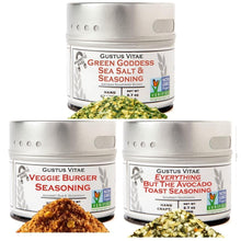 Load image into Gallery viewer, Veggie Lovers Seasonings - 3 Pack Collections & Gift Sets vendor-unknown