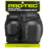 Street Knee/Elbow Pad Set - Black