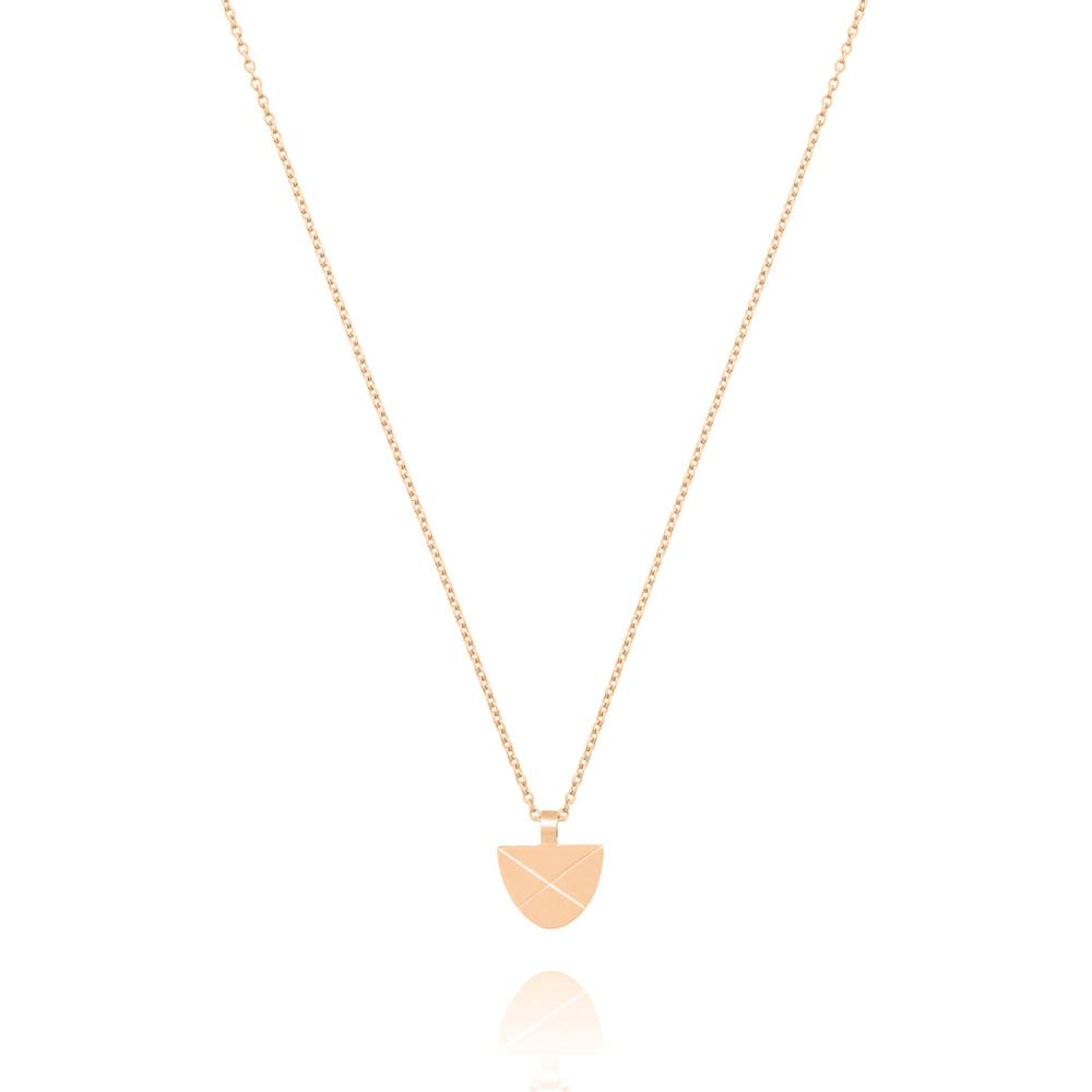 Linda Tahija Covet Necklace, Rose Gold