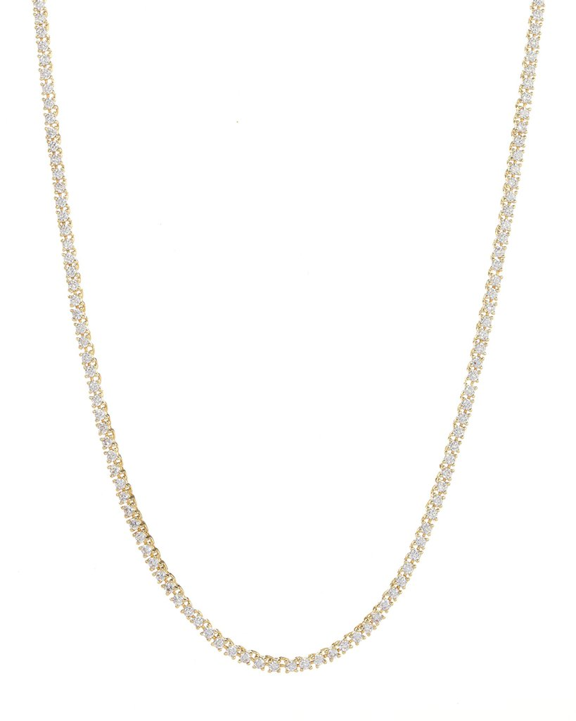 Luv Aj Mini Ballier Necklace Gold