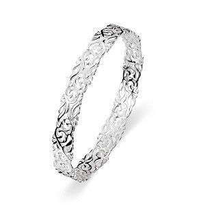 Melissa Bangle, Sterling Silver