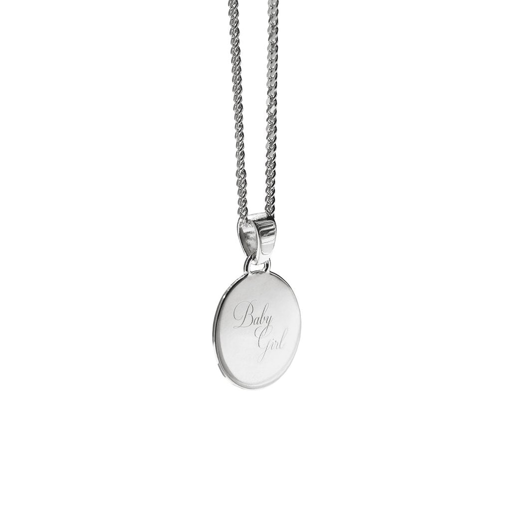 Aletheia & Phos Baby Girl Necklace, Silver