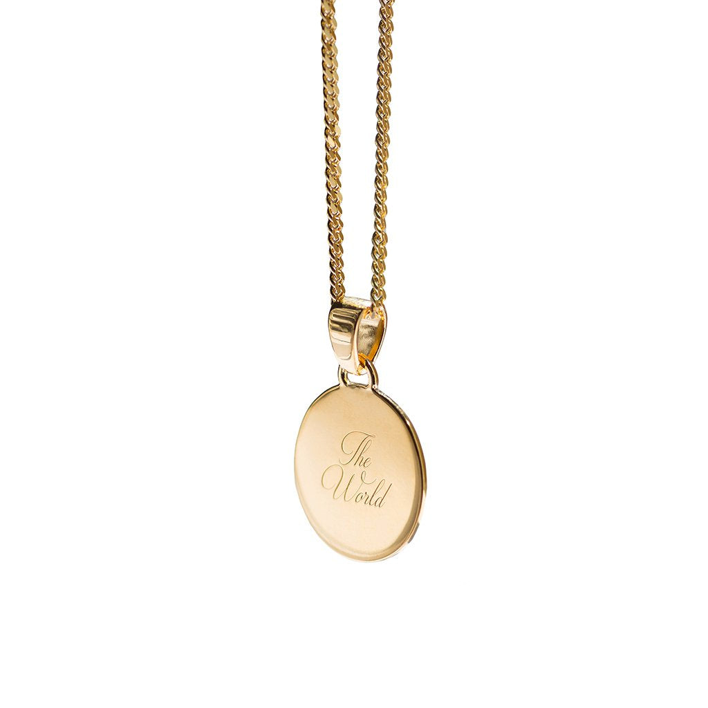 Aletheia & Phos Baby Girl Necklace, Gold
