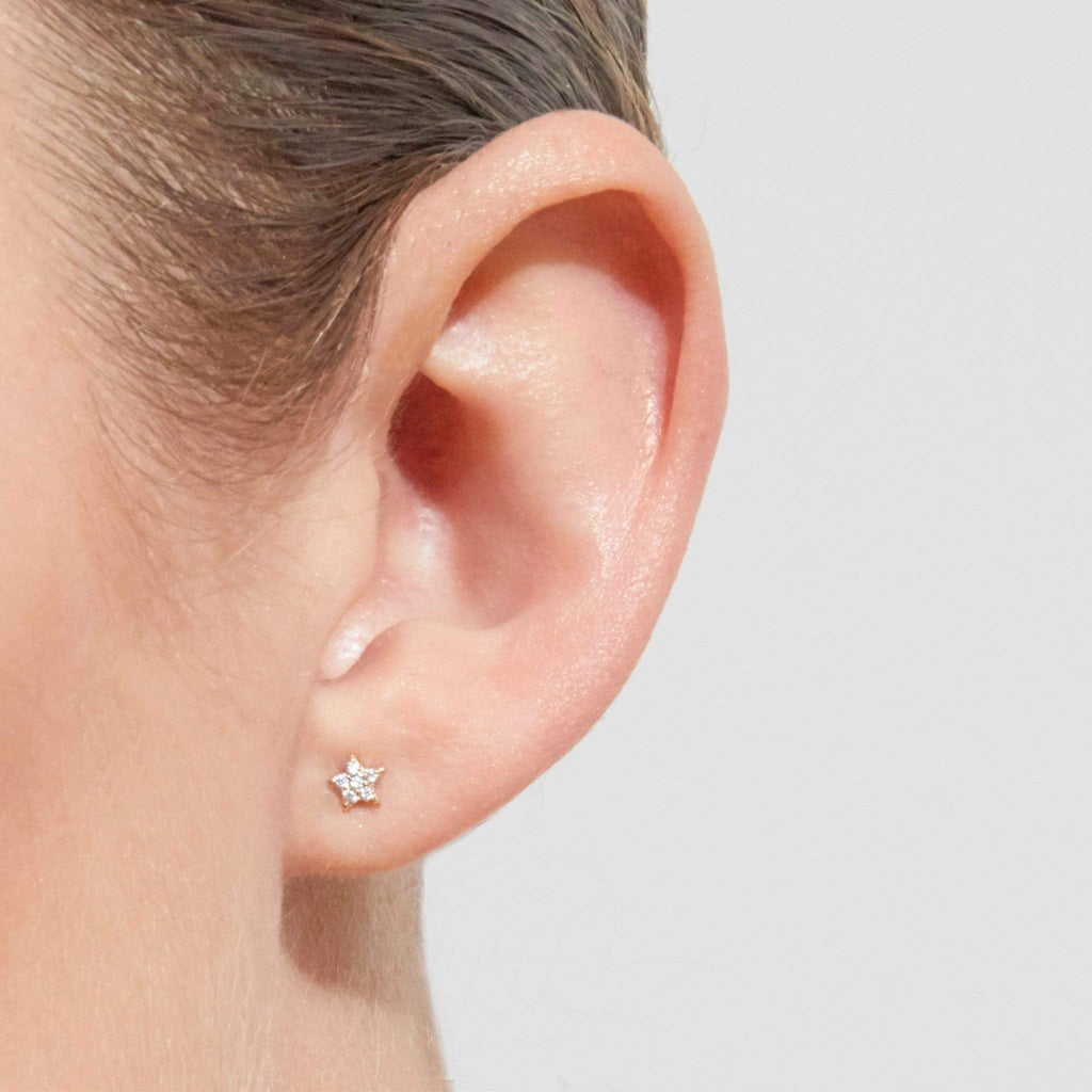 By Charlotte 14k Gold Venus Single Earring