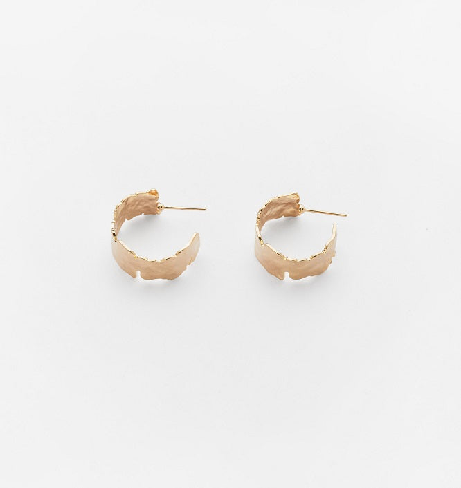 Reliquia Cement Hoops, Gold