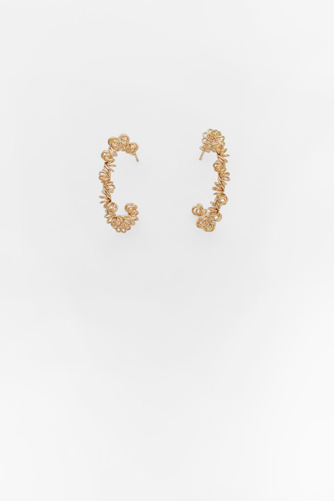 Coiled Gold Hoops, Reliquia