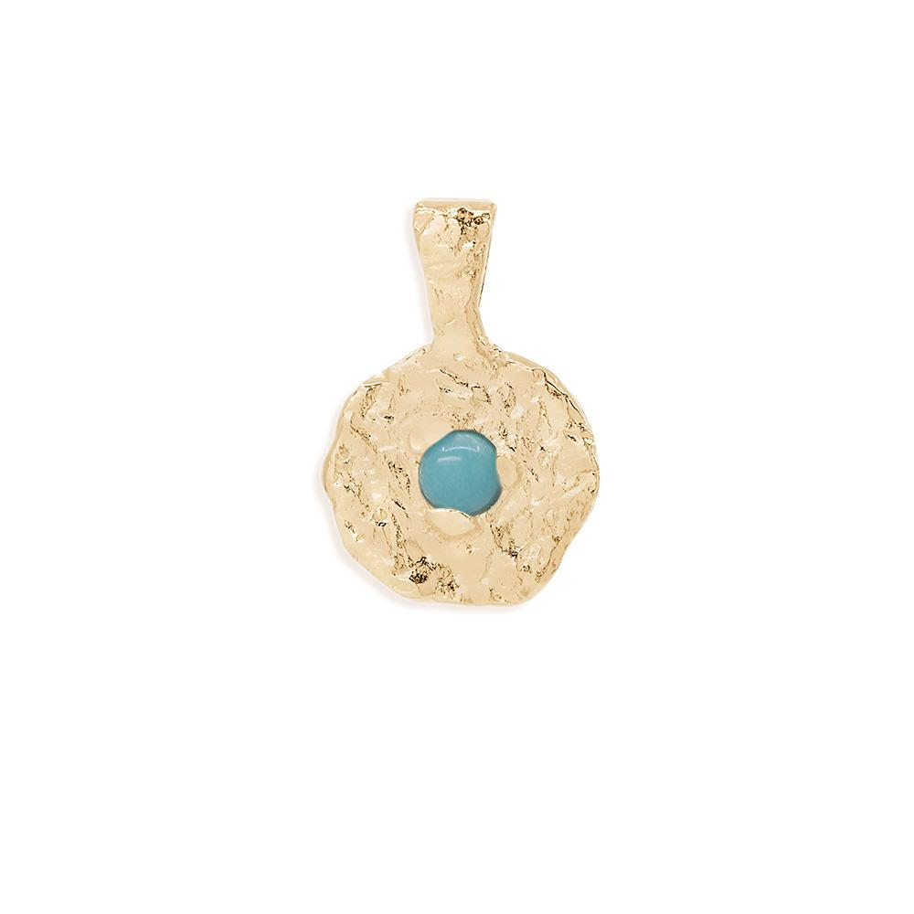 By Charlotte December Turquoise Birthstone Pendant