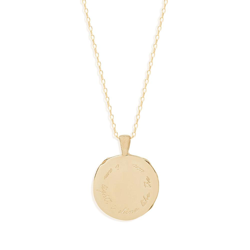 By Charlotte Leo Zodiac Necklace, Gold