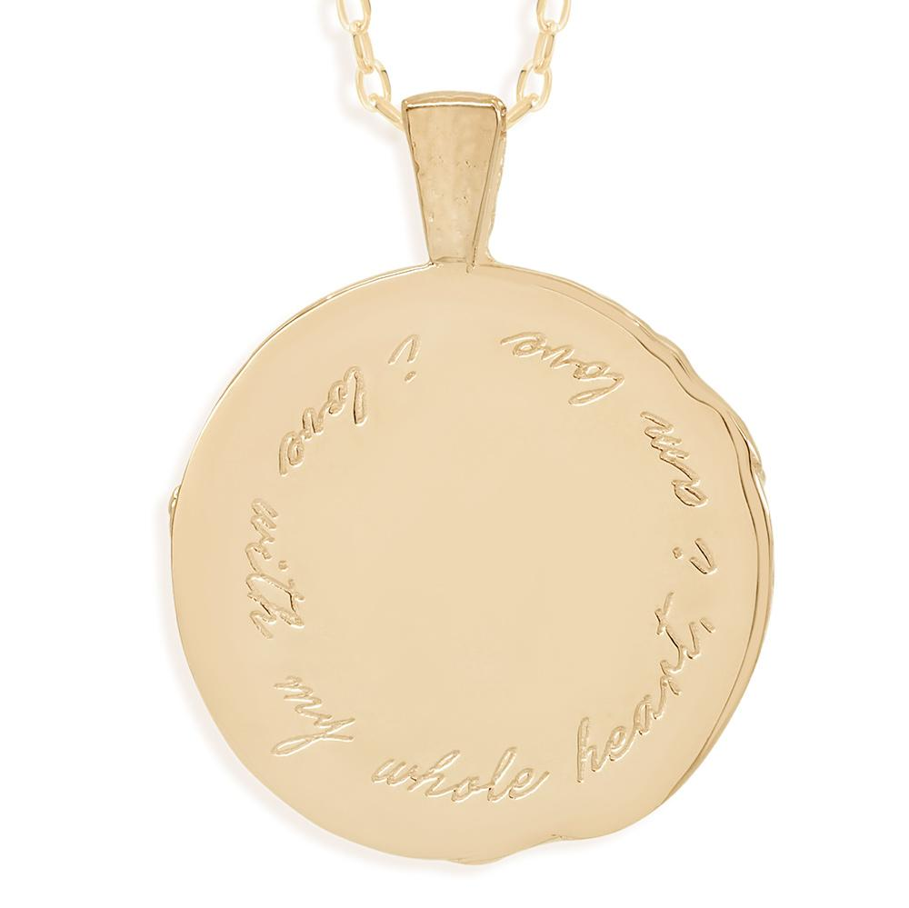 By Charlotte Libra Zodiac Necklace, Gold