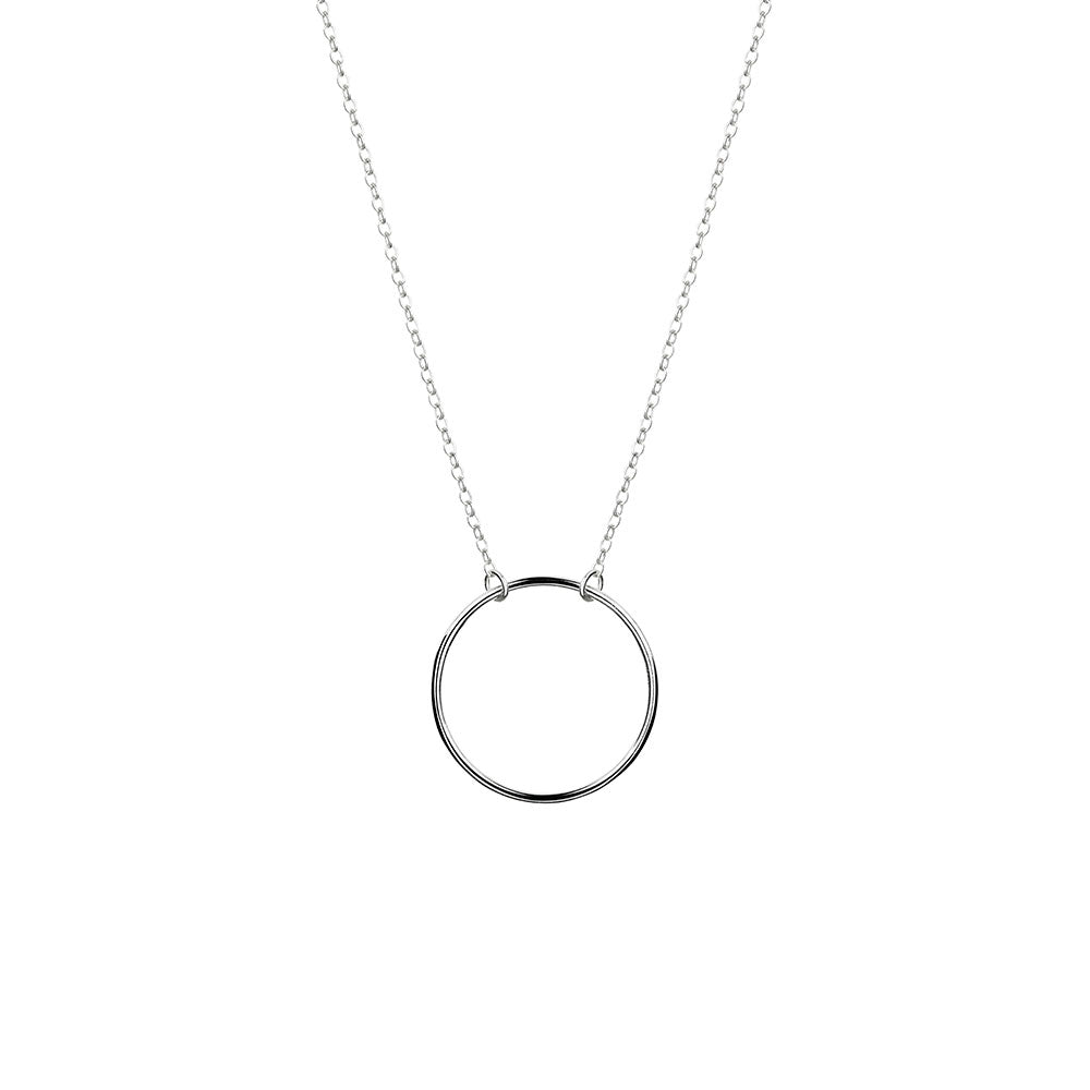 Karma Necklace - Sterling Silver