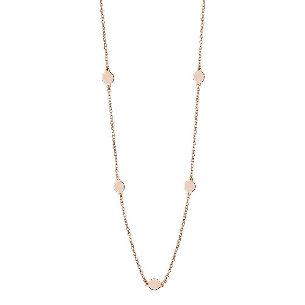 Mirabella Necklace, Rose Gold