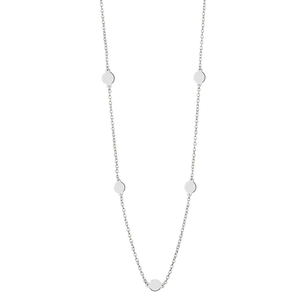 Mirabella Necklace, Silver