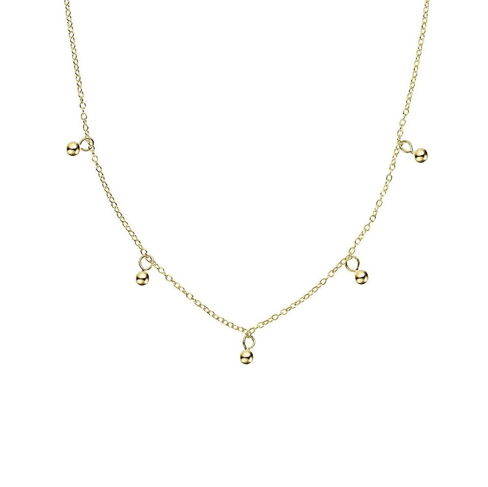 Forget Me Not Necklace, Gold