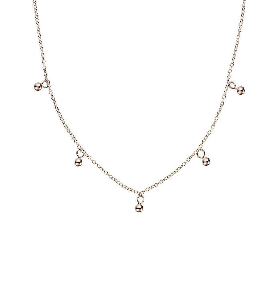 Forget Me Not Necklace, Rose Gold