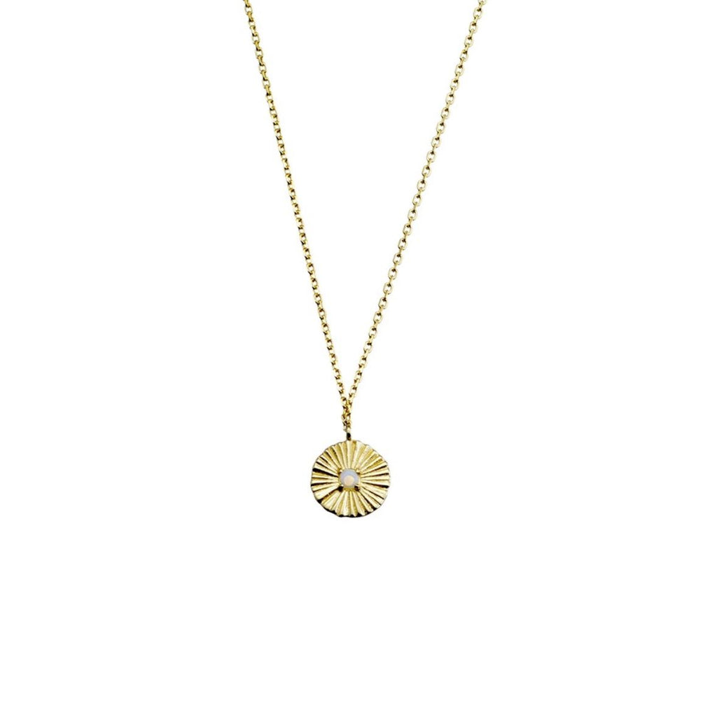 Mini Celeste Necklace, Gold