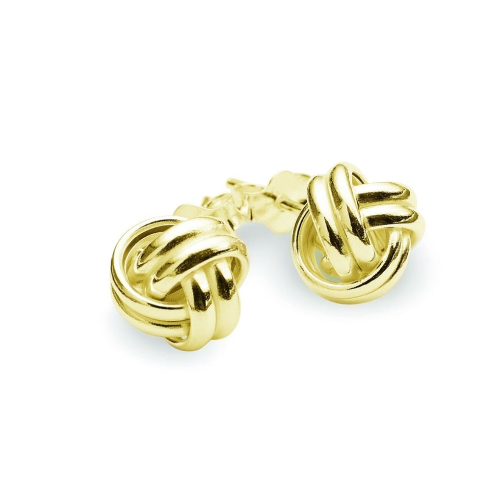 Love Knot Earring, Gold