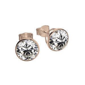Maya Stud Earrings, 8mm