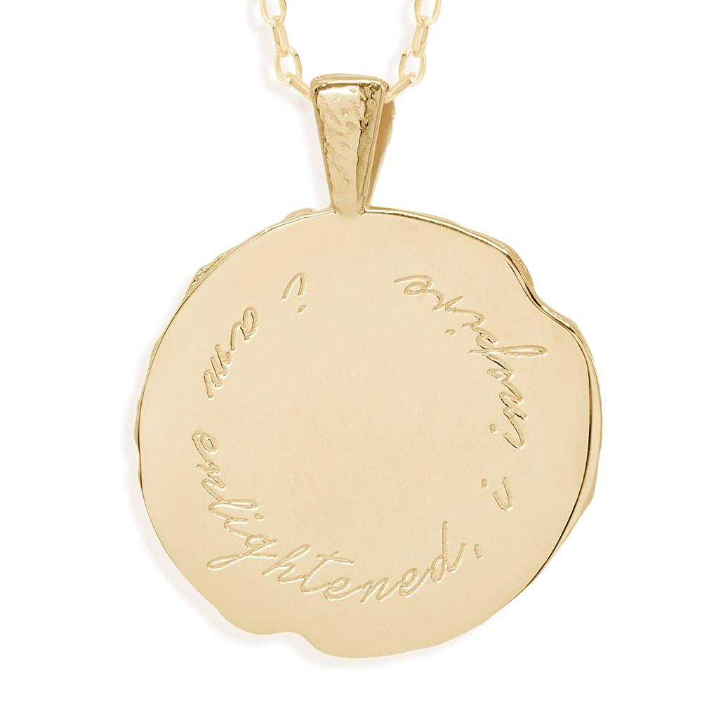 By Charlotte Sagittarius Zodiac Necklace, Gold