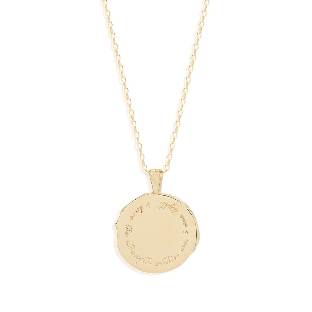 By Charlotte Scorpio Zodiac Necklace, Gold