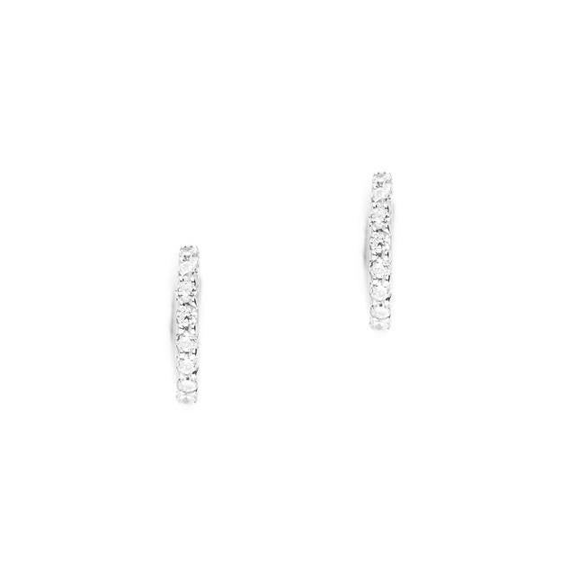 By Charlotte 14k White Gold Celestial Sleepers