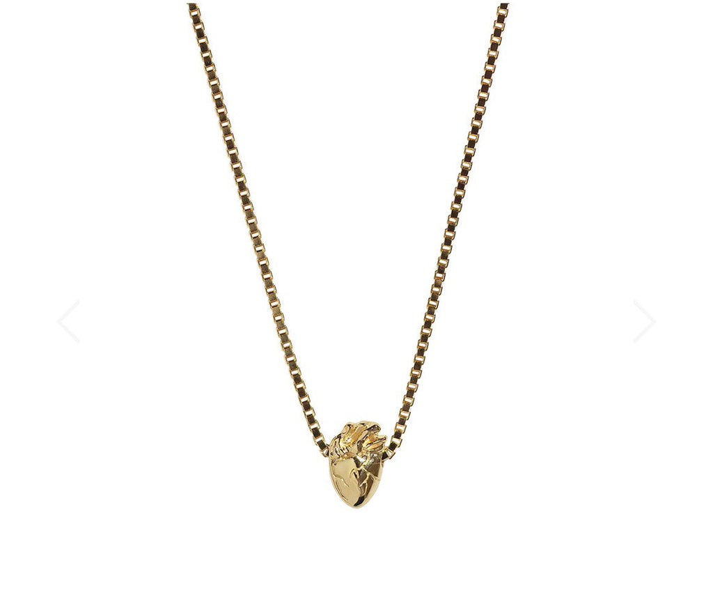 Aletheia & Phos I Carry Your Heart Necklace | Solid Gold
