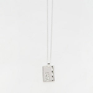 Reliquia Gemini Star sign necklace, silver