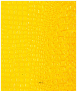 Crocodile Yellow