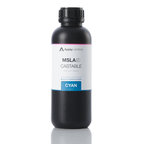 ApplyLabWork MSLA castable resin cyan