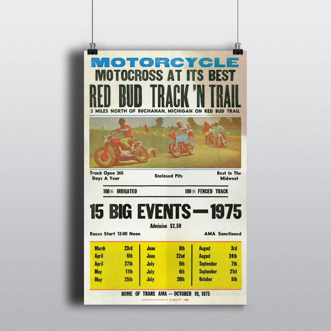 Motocross At Its Best Poster